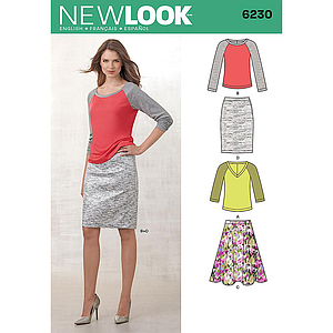 Patrón New Look 6230 Conjunto